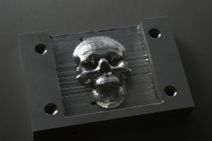 3d skull picture for cnc 3d jigsaw puzzle