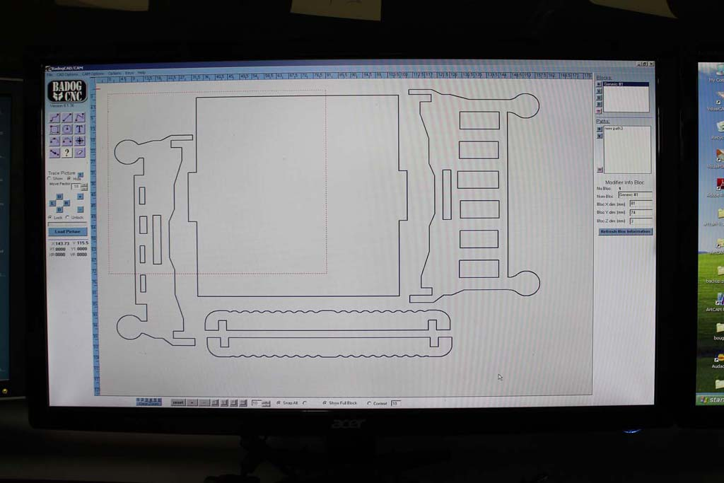 Free dXF plan CNC or Jigsaw puzzle plans for doll bed - Wood