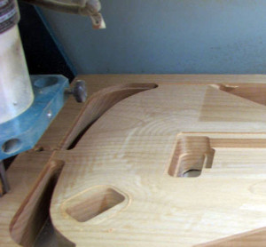 cnc guitar making