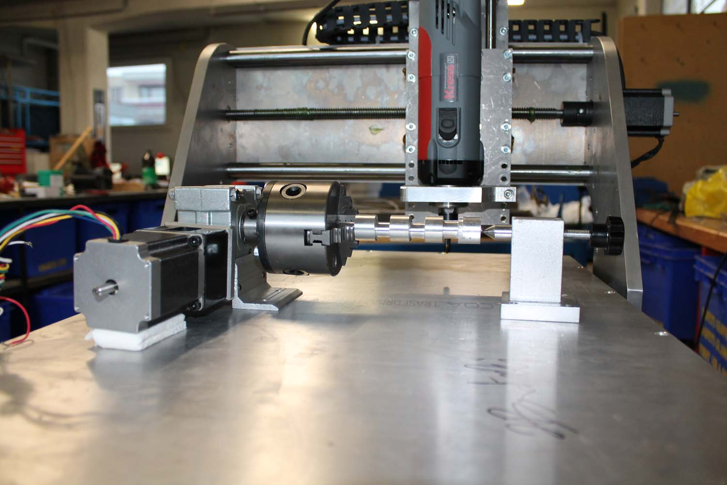 cnc machines Machinists normally operate cnc machines, but tool and die makers often are trained to both operate cnc machines and write cnc programs and thus may do either task  work environment about this section.