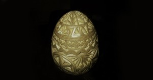 Eggbot and cnc machine Decorating (easter egg design)