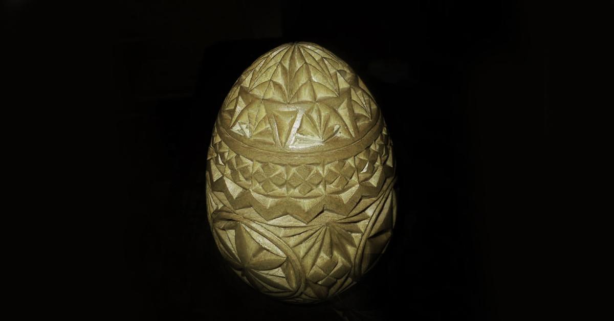 Easter Egg Design With Eggbot Amp Cnc Egg Decorating Wood