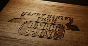Easter projects with cnc machine