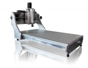 Aluminum and cnc machine